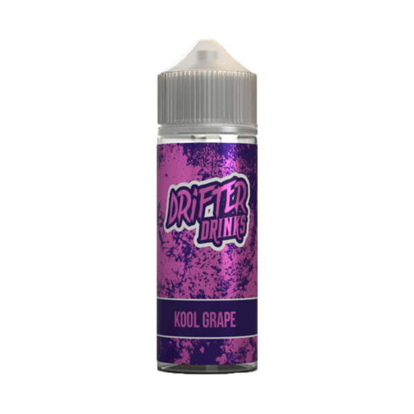 Drifter Kool Grape E Liquid 100ml Shortfill