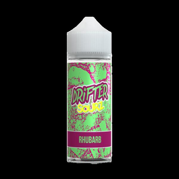 Drifter Sour Rhubarb E Liquid 100ml Shortfill