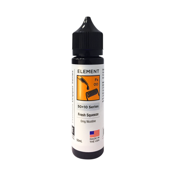 Element Fresh Squeeze E Liquid 50ml Shortfill