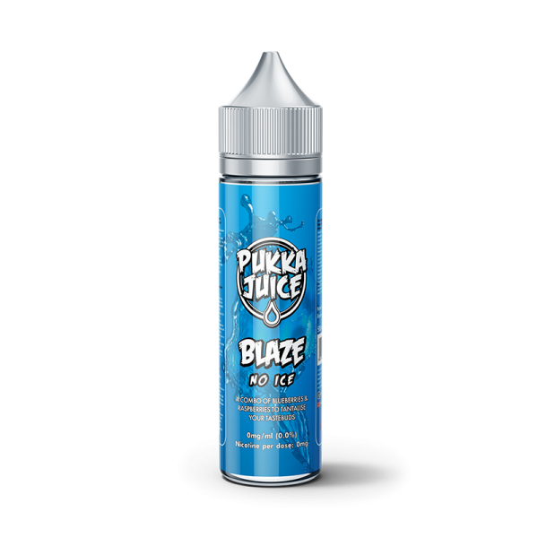 Pukka Juice Blaze No Ice E Liquid 60ml Shortfill