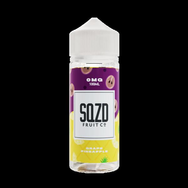 Sqzd Grape Pineapple E Liquid 100ml Shortfill