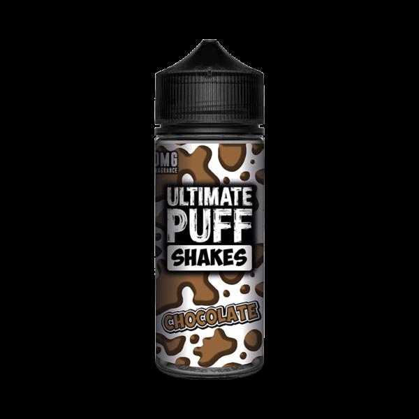 Ultimate Puff Shakes Chocolate E Liquid 100ml Shortfill