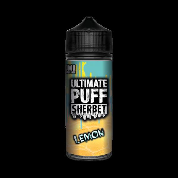 Ultimate Puff Sherbet Lemon E Liquid 100ml Shortfill
