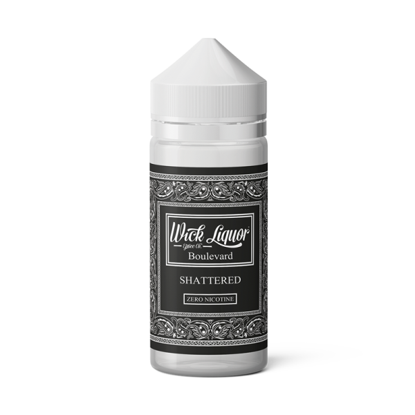 Wick Liquor Boulevard Shattered E Liquid 150ml Shortfill