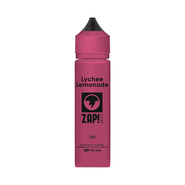 Zap! Juice Lychee Lemonade E Liquid 50ml Shortfill