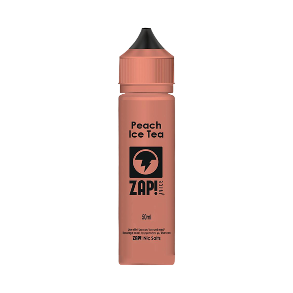 Zap! Juice Peach Iced Tea E Liquid 50ml Shortfill